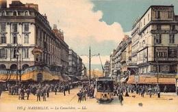France  Marseille La Cannebiere Tramway Tram Café Riche Modern Cinema Parfumerie  Barry 5938 - Canebière, Stadtzentrum