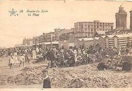 Belgium Knocke Strand Le Zoute La Plage Beach - Belgique