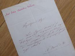 Angelina BOSIO (1830-1859) Cantatrice OPERA Italienne. AUTOGRAPHE - Autographs