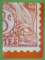 Feuillet Gommé Phil@poste Reproduisant Le Timbre Type Blanc De 1900 - Quart Inférieur Droit - Neuf - Philaposte - Documents Of Postal Services