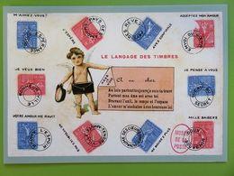 PAP - Carte Postale Pré-timbrée - Timbre International - Langage Des Timbres - 2020 - NOUVEAU - Documenti Della Posta