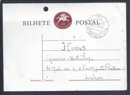 Postal Stationery Expedido De Sintra - Estefânia Em 1959. Postal Stationery Dispatched From Sintra - Estefânia In 1959. - 1910-... Republic