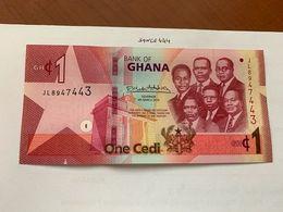 Ghana 1 Cedi Uncirc. Banknote 2019 - Ghana