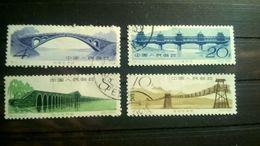 China 1962 Ancient Chinese Bridges - 1949 - ... República Popular