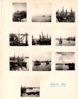 OSTENDE 1946 Port Barque De Pêche Bateau La Malle - Photo X10 - Luoghi
