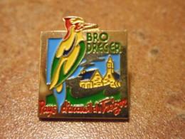 Lot 061 -- Pin's Bro Dreger Pays D'Accueil Du Tregor -- Exclusif Sur Delcampe - Ciudades