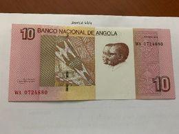 Angola 10 Kwanzas Uncirc. Banknote 2012 - Angola