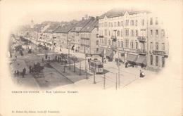 Suisse Zwitserland  Neuchatel Chaud De Fonds , Rue Léopold Robert   Billard    Tram Tramway      Barry 5996 - NE Neuchâtel