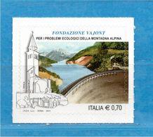 Italia ** - 2014 - FONDAZIONE VAJONT.  MNH ** - 2011-...: Mint/hinged