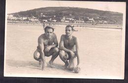 Uruguay - Piriapolis - Plage - 1961 - Jeune Homme En Maillot De Bain - Cygnus - Personnes Anonymes