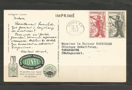 285 ET 287  Carte Du Docteur  IONYL  (clasverA34) - Cameroun (1915-1959)