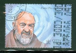 Padre Pio; Vatican; Scott # 1106 C; Usagé  (9160) - Vatican