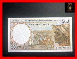 C.A.S CENTRAL AFRICAN STATES Cameroun 500 Francs 1998  P. 201 E  UNC - États D'Afrique Centrale