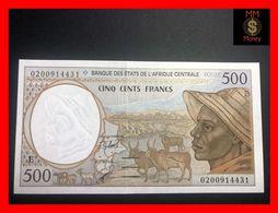 C.A.S CENTRAL AFRICAN STATES Cameroun 500 Francs 2002  P. 201 E  UNC - États D'Afrique Centrale
