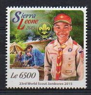 SIERRA LEONE. 2015. SCOUTS. MNH (6R1470) - Scouting