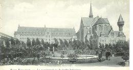 Cpa Passy Froyennes Belgique * Le Pensionnat Vu Du Jardin Botanique , Non Voyagée - Sonstige