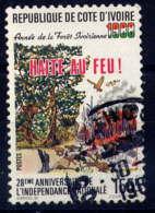 """COTE D'IVOIRE - 818° - """"HALTE AU FEU"""" - Costa De Marfil (1960-...)"""