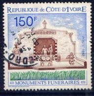 COTE D'IVOIRE - 899° - MONUMENT FUNERAIRE - Costa De Marfil (1960-...)