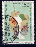 COTE D'IVOIRE - 900E° - 30è ANNIVERSAIRE DE L'INDEPENDANCE - Costa De Marfil (1960-...)