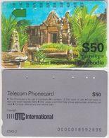 42/ Cambodia; P3. Palace, ICM 3-2 - Kambodscha
