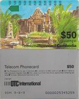 43/ Cambodia; P3. Palace, ICM 3-2-3 - Kambodscha