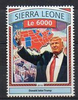 SIERRA LEONE. 2016. POLITICS. DONALD TRUMP. MNH (6R1491) - Unclassified