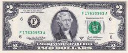 "USA 2 DOLLARS 2003 A ATLANTA GEORGIA (F) PREFIX ""F-A"" AU ""free Shipping Via Regular Air Mail (buyer Risk)"" - Federal Reserve (1928-...)"