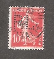 Perforé/perfin/lochung France No 138 P.L. Panhard Et Levassor - France