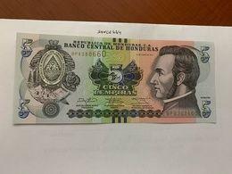 Honduras 5 Lempiras Uncirc. Banknote 2014 - Honduras
