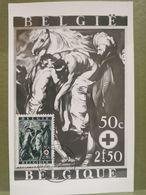 Carte Maximum, Croix Rouge 1944. Le Bon Samaritain - 1934-1951