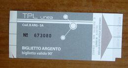 ITALIA Ticket  Bus  Biglietto TLP Savona -  Usato - Europe