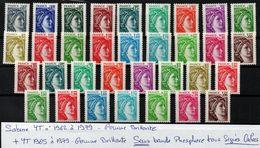 YT N° 1965 à 1979 Gomme Brillante Sans Phosphore - Signés Calves - Neufs ** - Cote: 536,00 € - Variedades Y Curiosidades