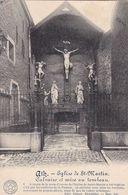 AK Ath - Eglise De St-Martin - Calvaire Et Mise Au Tombeau - Feldpost Landst. Inf. Batl. Regensburg II - 1915 (51029) - Ath