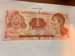 Honduras 1 Lempira Uncirc. Banknote 2014 #1 - Honduras
