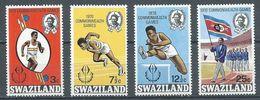 Swaziland YT N°180/183 Jeux Du Commonwealth Neuf ** - Swaziland (1968-...)