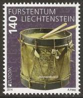 "LIECHTENSTEIN - EUROPA 2014-THEME ANNUEL- ""INSTRUMENTS DE MUSIQUE NATIONALES"" - SERIE De 1 V. - 2014"