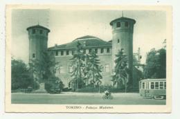 TORINO -  PALAZZO MADAMA 1936 - VIAGGIATA   FP - Italy