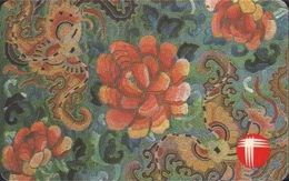 86/ Hong Kong, Flowers Motiv, 50 Ut. - Hong Kong