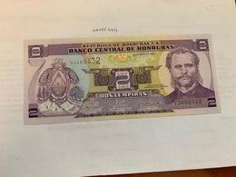 Honduras 2 Lempiras Uncirc. Banknote 2008 #2 - Honduras