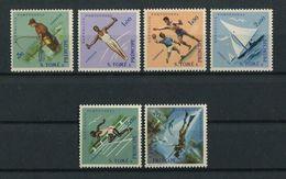Portugal St Thomas Sao Tome 1962 SPORTS Complete Set MNH, FVF - St. Thomas & Prince