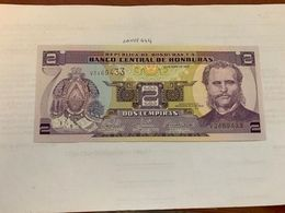 Honduras 2 Lempiras Uncirc. Banknote 2008 #3 - Honduras