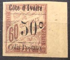 Côte D'Ivoire / Colis Postaux N°6** - 50c Sur 60c Brun Sur Chamois (tirage 1800) - Bord De Feuille - Ongebruikt