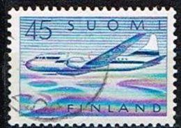 FINLANDE/Oblitérés/Used/1959 - Convair Metropolitain 440 - Usados