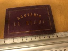 Suisse Schwyz RIGHI - Rigi Vers 1890  Souvenir Litho  Pliant - SZ Schwyz