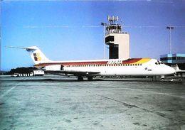DC-9-32  TIRAGE 500 EX - IBERIA - PALMA DE MALLORCA Année 2000 - Aerodrome / Airport (Avion Aircraft Flugzeug) - Aerodrome