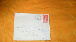ENVELOPPE ANCIENNE DE 1941.../ CACHETS ST MAIXENT L'ECOLE + TIMBRE PETAIN 1F N°472 - 1921-1960: Moderne