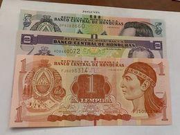 Honduras Lot Of 3 Uncirc. Banknotes - Honduras