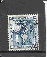 AÑO 1951 ESPAÑA Nº1091 / USADO EDIFIL S.C. - 1931-Oggi: 2. Rep. - ... Juan Carlos I