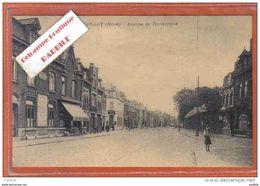 Carte Postale 59. Lambersart Avenue De Dunkerque Trés Beau Plan - Lambersart
