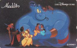 Télécarte JAPON / 110-177647 - DISNEY STORE - ALADDIN Yasmine Singe Monkey - JAPAN Movie Phonecard - Disney